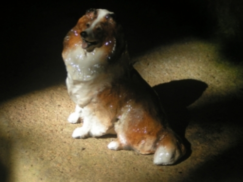Ron Hevener Family Dog Figurine For Sheltie Lovers -- What Color For You?
