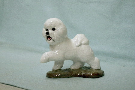 Ron Hevener Family Dog Figurine For Bichon  Lovers