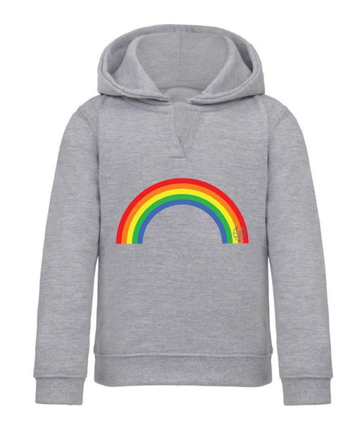 Rainbow Hoody - Grey