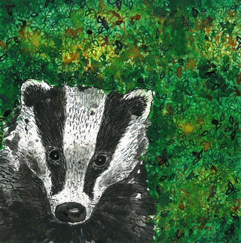 Badger Print Limited Edition