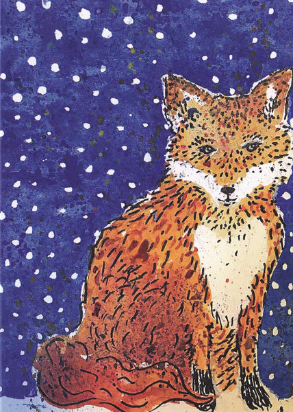 Winter Fox Cards (pack of 4)