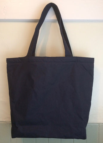 Waxed Cotton Tote