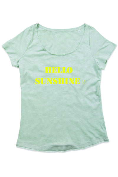 Bax & Bay 'Hello Sunshine' Slub T-shirt