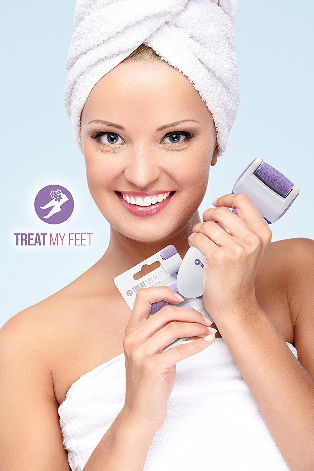 Rechargeable Foot File and Callus Remover by Treat My Feet