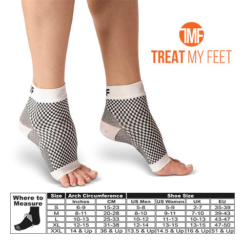 Plantar Fasciitis Compression Socks - Foot Pain, Swelling & Edema Relief