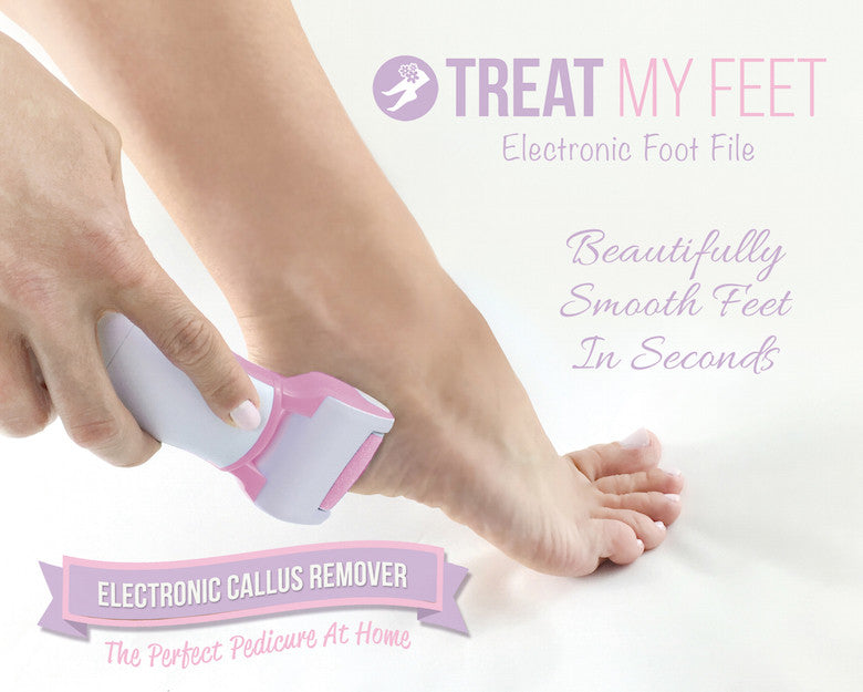 Electronic Foot File and Callus Remover by Treat My Feet