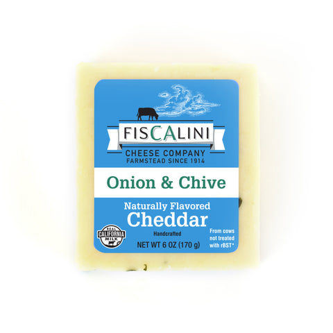 Onion and Chive Cheddar 6oz