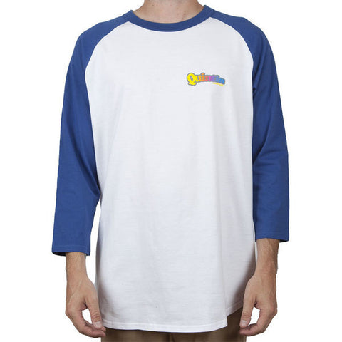 Red Rover Raglan T Shirt - White