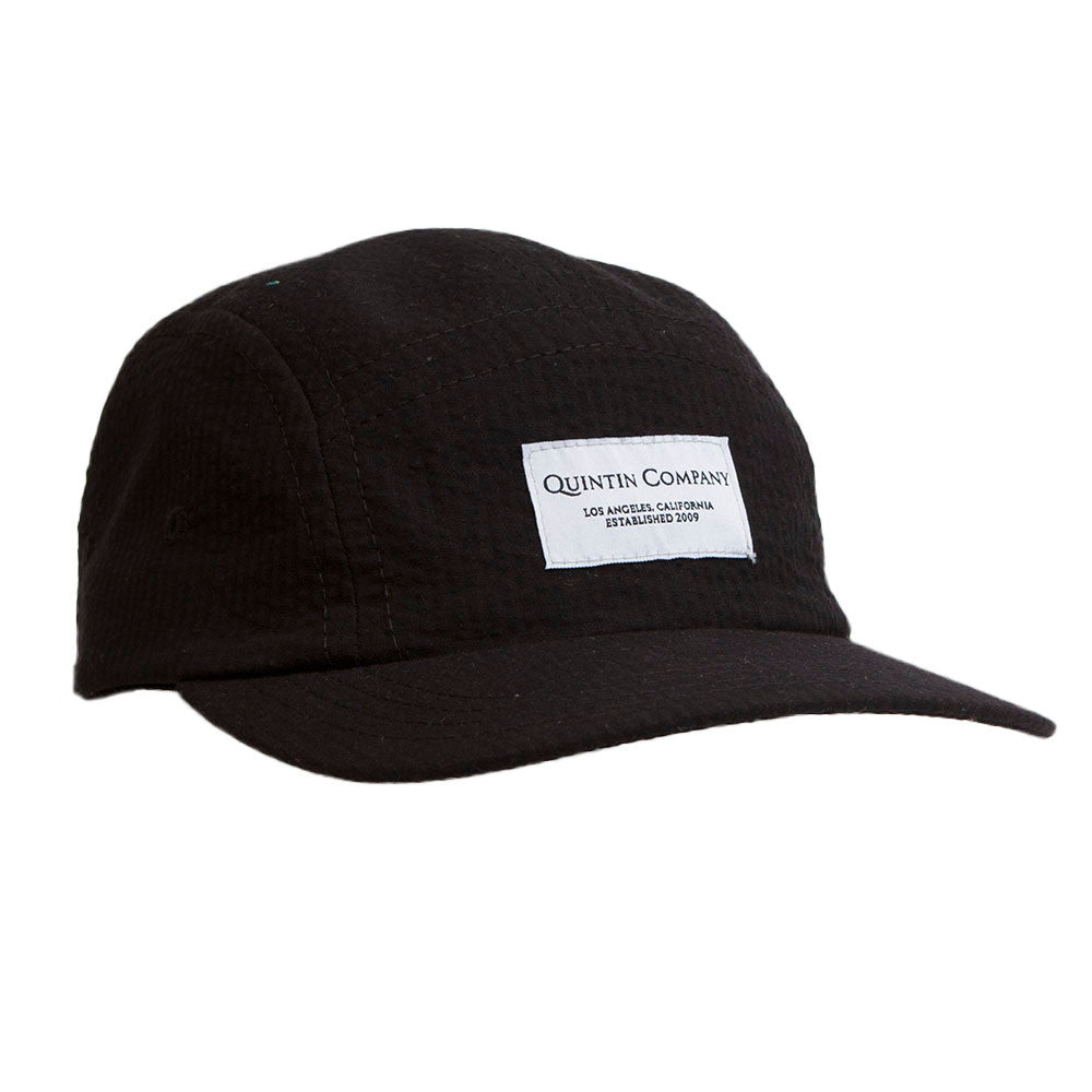 5 Panel | Soft Black Corduroy
