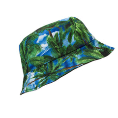 Palm Trees Reversible Bucket Hat