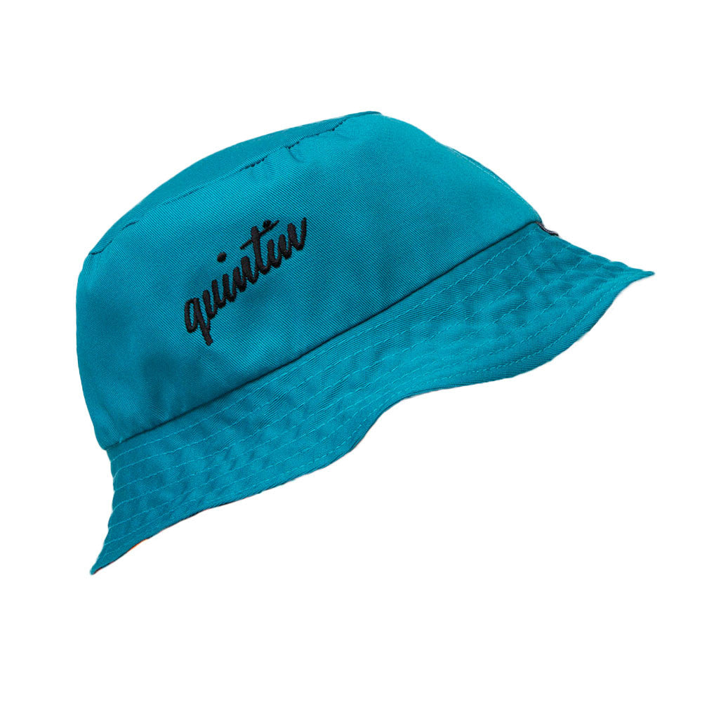 Teal Aztec Reversible Bucket Hat