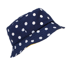 Polka Dot Reversible Bucket Hat
