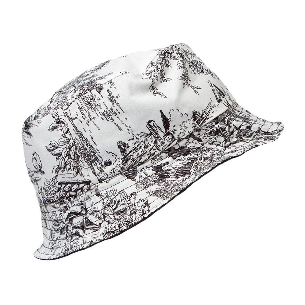 Rabbit Reversible Bucket Hat (black)