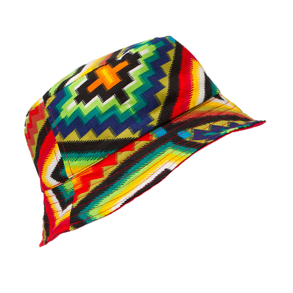 Aztec Reversible Bucket Hat