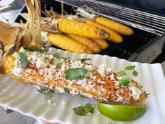 Smoked Mexican Corn