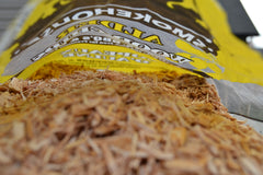 Smokehouse wood chips for smoking salmon