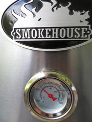 Smokehouse Gas Smoker for smoking ribs