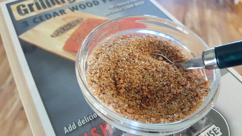 Smokehouse Cedar Planks and Fish Seasoning