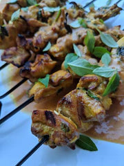 Smokehouse Smoked Satay with Smokey Peanut Sauce