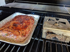 Smoked Stuffed Meatloaf