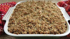 Apple Smoked Apple Crumble