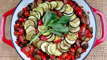 Smokehouse Mesquite Smoked Ratatouille