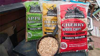 Smokehouse Wood Chip Flavors for Smoking Sausage/Brats