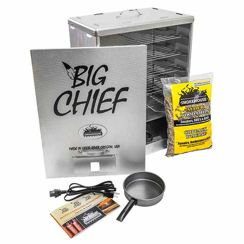 Big Chief Front Load Electric Smoker