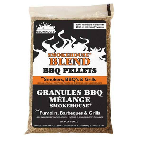 Smokehouse Blend BBQ Pellets