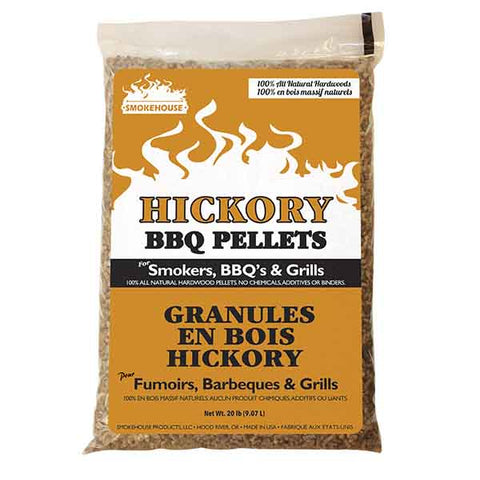 Smokehouse Hickory BBQ Pellets