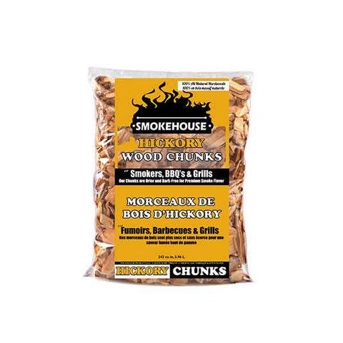 Smokehouse Hickory Wood Chunks