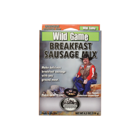 Wild Game Breakfast Sausage Mix