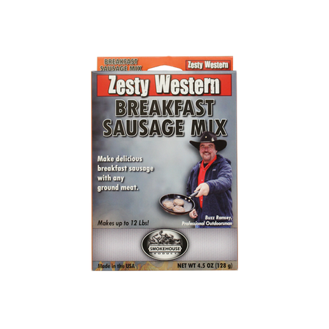 Zesty Western Breakfast Sausage Mix
