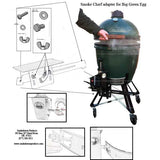 Smoke Chief - Big Green Egg Adapter Kit