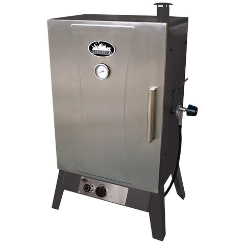 Smokehouse Wide Gas Smoker Cooker