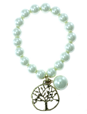 TREE OF LIFE CHARM BRACELET - Seraphim Jewelry