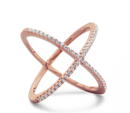 Criss Cross Ring - Seraphim Jewelry - 1