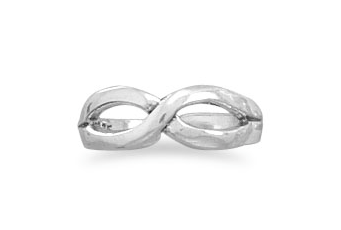 Infinity Silver Toe Ring - Seraphim Jewelry