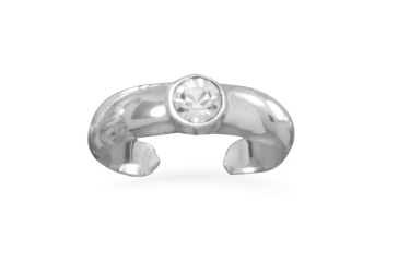 Sterling Silver Turtle Toe Ring - Seraphim Jewelry