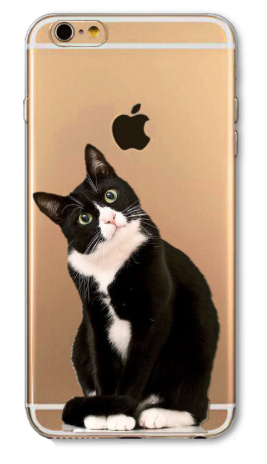 Kitty Cat iPhone 6s plus Cell Case - Seraphim Jewelry