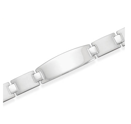 Stainless Steel Link Personalized Bracelet