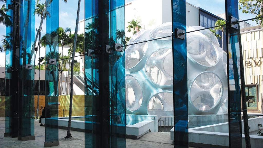 Miami Design District Fly's Eye Dome