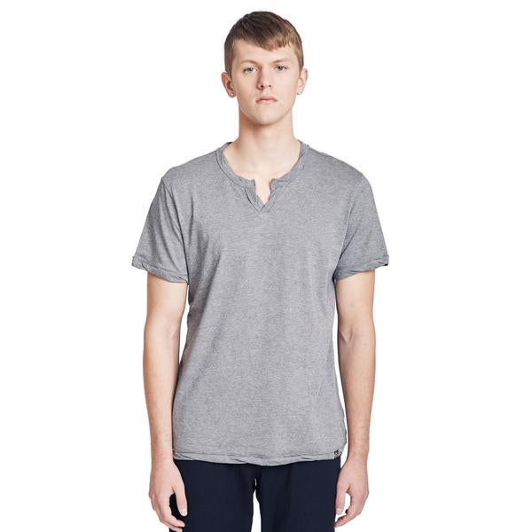 Spencer Notch Pima Cotton Jersey T-shirt, Navy