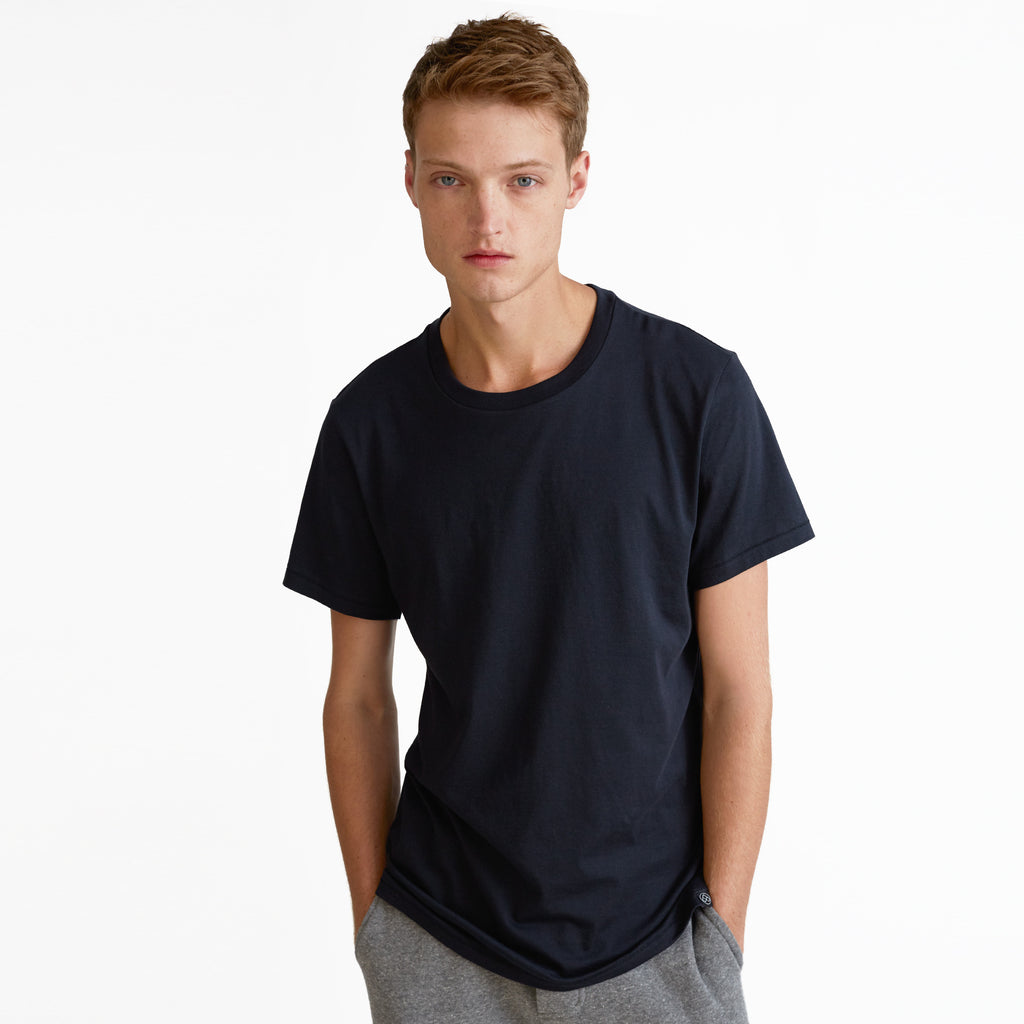 Spencer Pima Cotton T-Shirt, Black