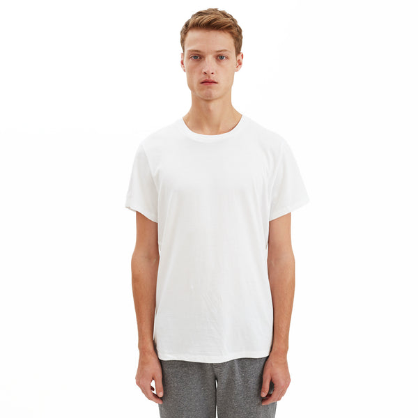 Spencer Pima Cotton T-Shirt, White
