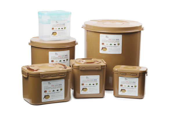 Fermentation & Storage Containers