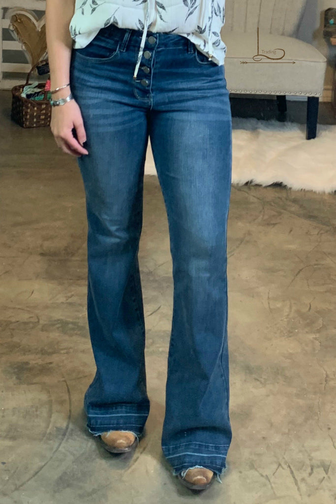 The Laredo Flare Jeans - L Trading