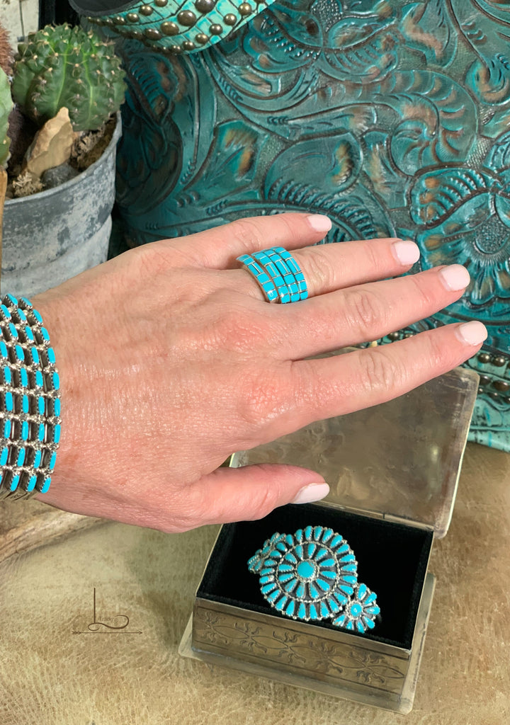 Turquoise Stackers
