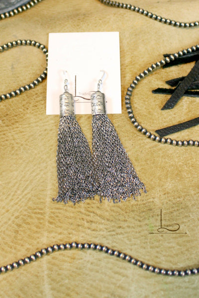 Sterling Tassel Earrings