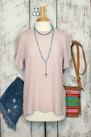 Blush Tulip Tunic